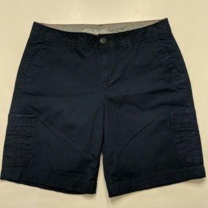 Eddie Bauer slightly curvy blue shorts size 4